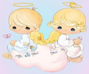 Angels. Precious Moments puzzle