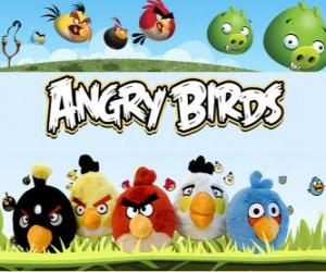 Angry Birds of Rovio. Video Game puzzle