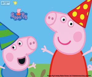 Anniversary of Peppa Pig puzzle
