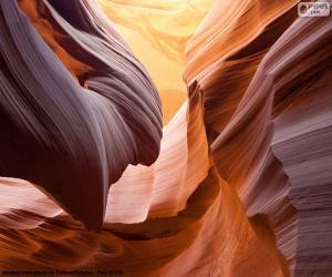 Antelope Canyon, United States puzzle