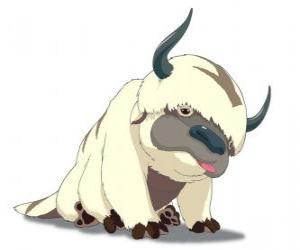 Appa, Aang's flying bison puzzle