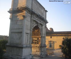 Arch of Titus, Rome puzzle