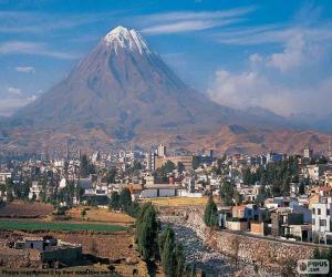 Arequipa, Peru puzzle