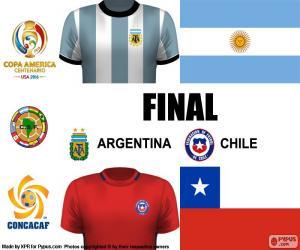ARG-CHI final Copa America 2016 puzzle