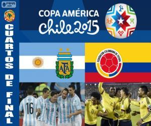 ARG - COL, Copa America 2015 puzzle