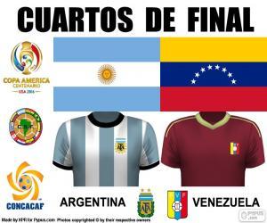 ARG - VEN, Copa America 16 puzzle
