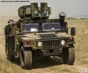 Army Humvee puzzle