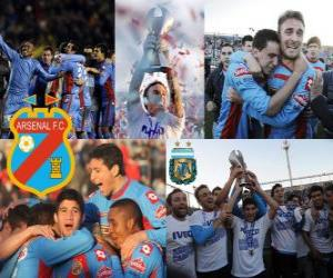 Arsenal Football Club, Clausura champion 2012, Argentina puzzle