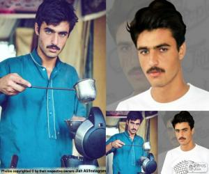 Arshad Khan, Instagram puzzle