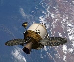 Artificial satellite, Orion puzzle