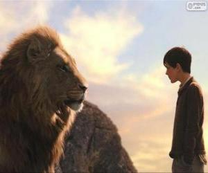 Aslan talking to Edmund puzzle