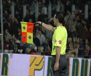 Assistant referee puzzle