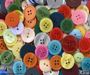 Assorted buttons puzzle