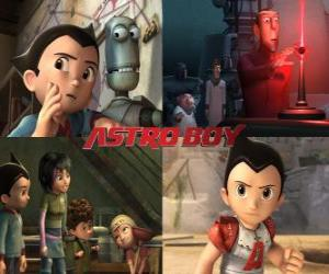 AstroBoy or Astro Boy, with friends puzzle