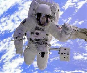 Astronaut space mission puzzle