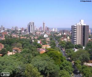 Asunción, Paraguay puzzle