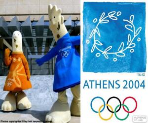 Athens 2004 Olympic Games puzzle