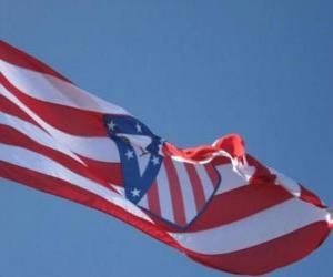 Atlético Madrid flag puzzle