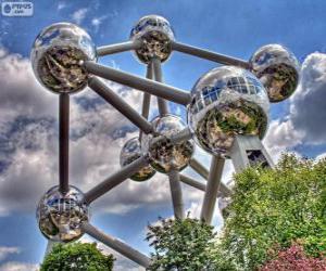Atomium, Brussels, Belgium puzzle
