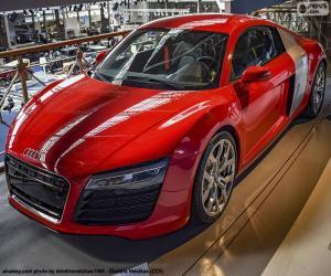 Audi R8 Red puzzle