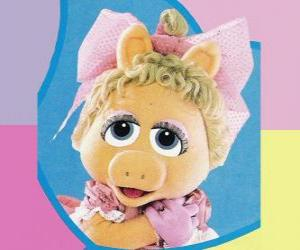 Baby Piggy, the Muppet Baby Miss Piggy puzzle