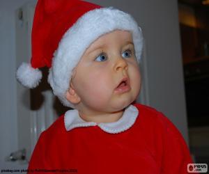 Baby, Santa Claus puzzle