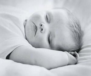 Baby sleeping peacefully puzzle