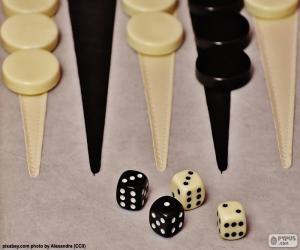 Backgammon puzzle