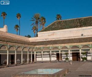 Bahia Palace, Marrakesh, Morocco puzzle