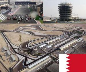 Bahrain International Circuit puzzle