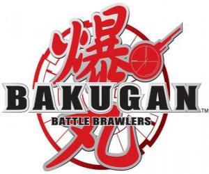 Bakugan logo puzzle