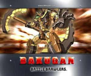 Bakugan Subterra Gorem is the guardian of Julie puzzle