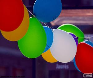 Balloons for celebration puzzle