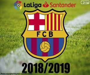 Barça, champion 2018-2019 puzzle