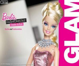 Barbie Fashionista Glam puzzle