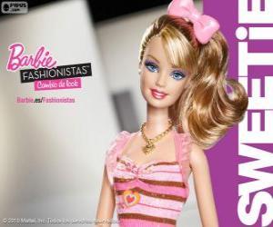 Barbie Fashionista Sweetie puzzle
