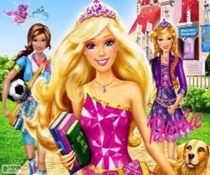 Barbie Princess at school puzzle