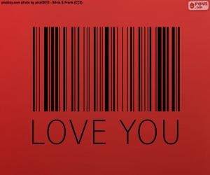 Barcode, Love you puzzle