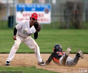 Baseball reach the base puzzle