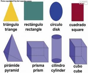 Basic geometric figures puzzle