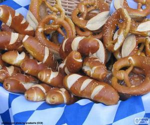 Basket of pretzels puzzle