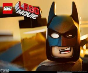 Batman, a superhero who will help to save the Lego universe puzzle