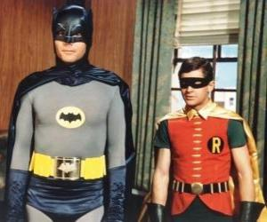 Batman and Robin puzzle
