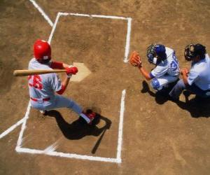 Batter and catcher ready puzzle