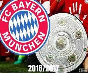 Bayern Múnich, champion 2016-2017 puzzle