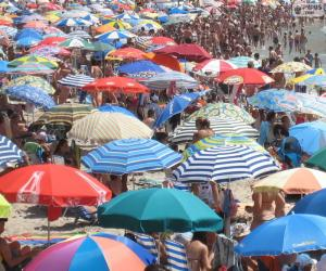 Beach umbrellas puzzle