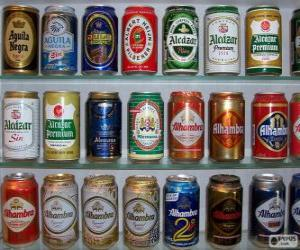 Beer cans puzzle