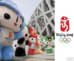 Beijing 2008 Olympic Games puzzle