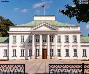 Belweder Palace, Warsaw, Poland puzzle