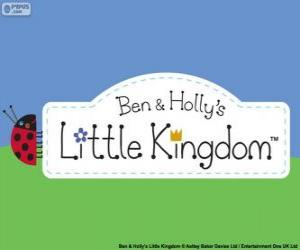 Ben and Holly's Little Kingdom logo puzzle